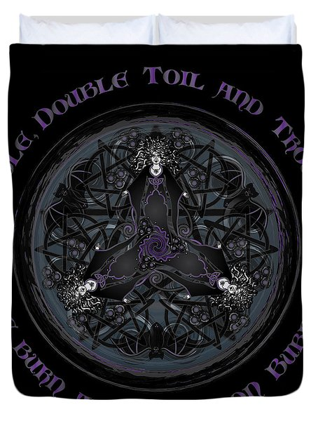 A Celtic Witches' Brew Duvet Cover