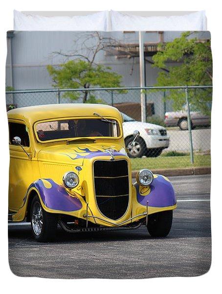 A Classic Truck Duvet Cover