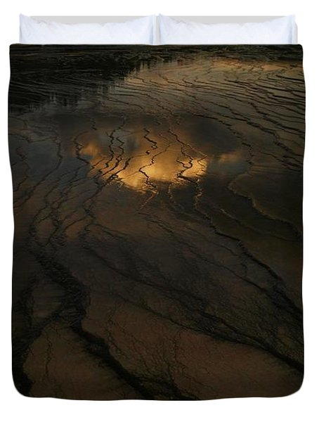 A Cloud In The Water Duvet Cover by Jeff Swan