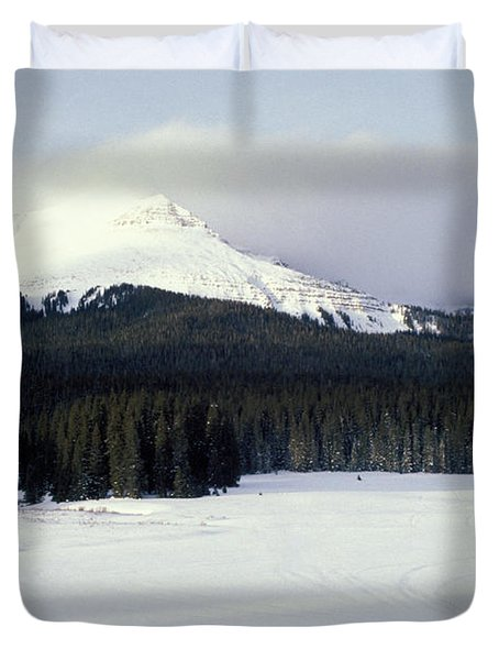 A Cold Wind Duvet Cover by Brent L Ander