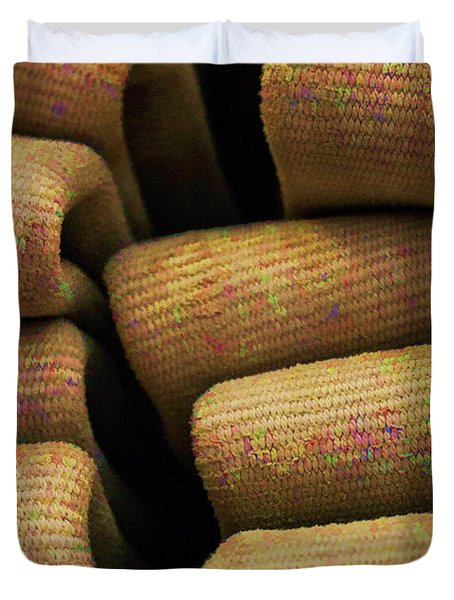 A Colorful Past Duvet Cover