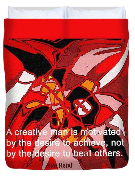 A Creative Man Duvet Cover by Ian  MacDonald