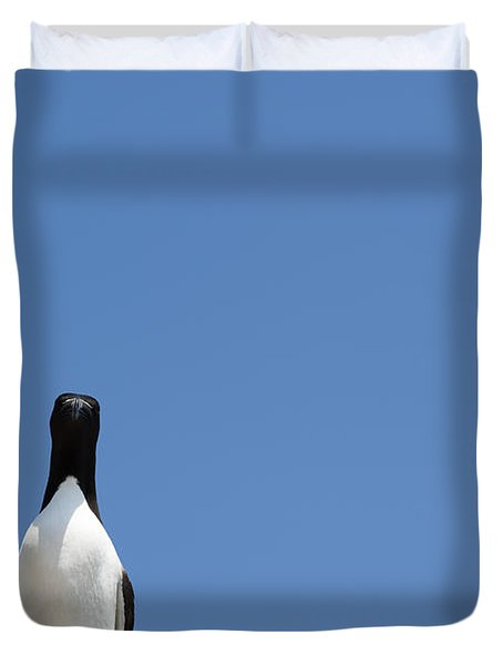 A Curious Bird Duvet Cover