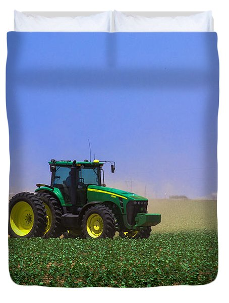A Day On The Farm Duvet Cover