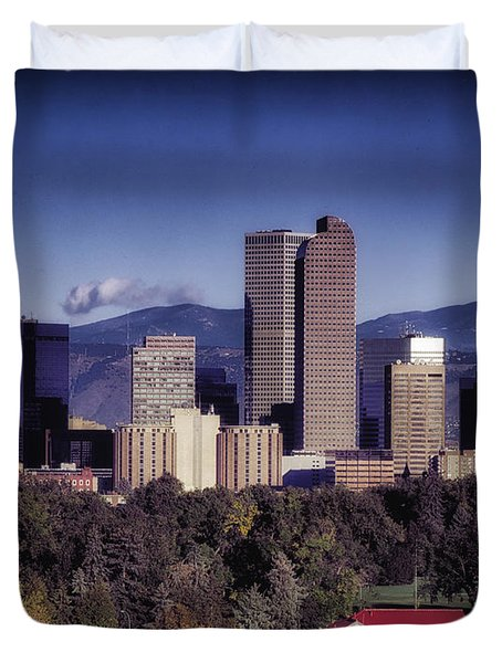 A Denver Autumn Duvet Cover