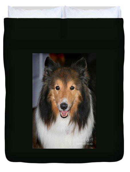 A Dog Named Beau Duvet Cover