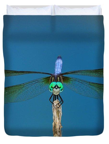A Dragonfly IIi Duvet Cover by Raymond Salani III