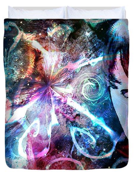 A Dreamer's Dream Duvet Cover by Linda Sannuti