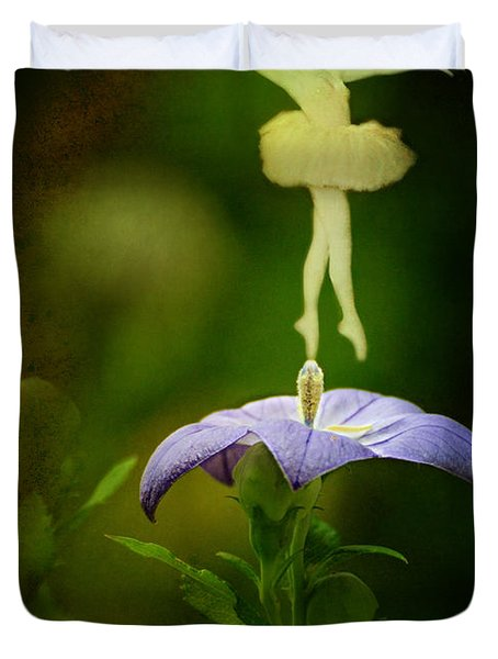 A Fairy In The Garden Duvet Cover