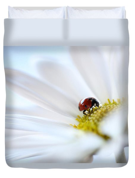 A Fine Lady Duvet Cover