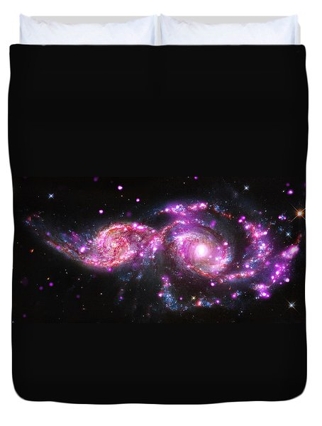 A Galactic Get-together Duvet Cover