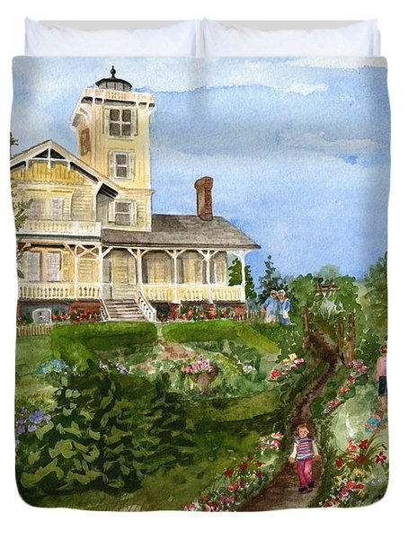 A Garden For All Ages Duvet Cover