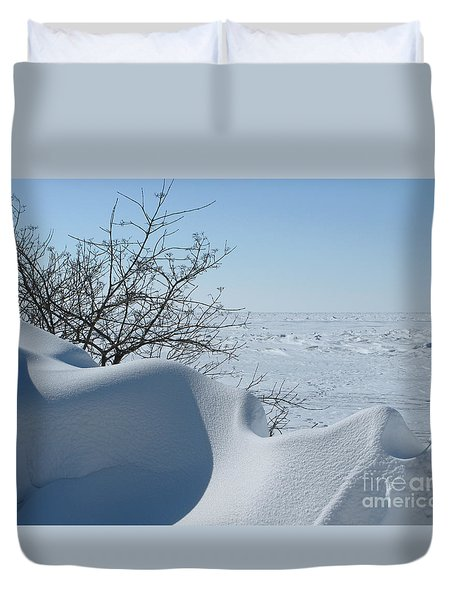 Duvet Cover featuring the photograph A Gentle Beauty by Ann Horn