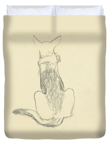 A German Shepherd Duvet Cover