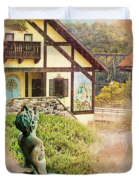 A Glimpse Of Bavaria In West Virginia Duvet Cover