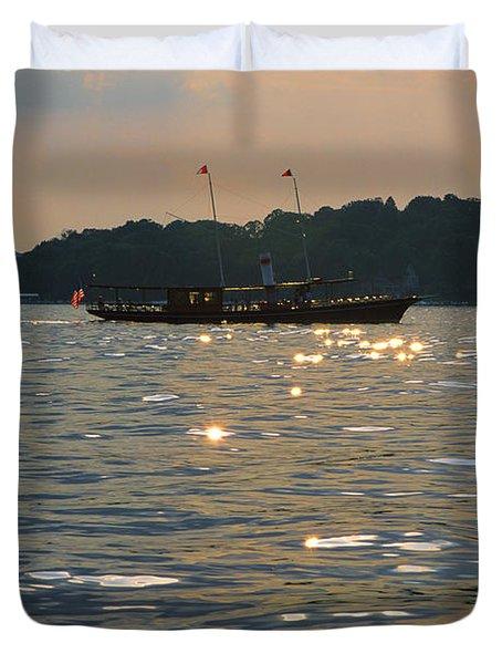 A Glint Of Glory - Lake Geneva Wisconsin Duvet Cover