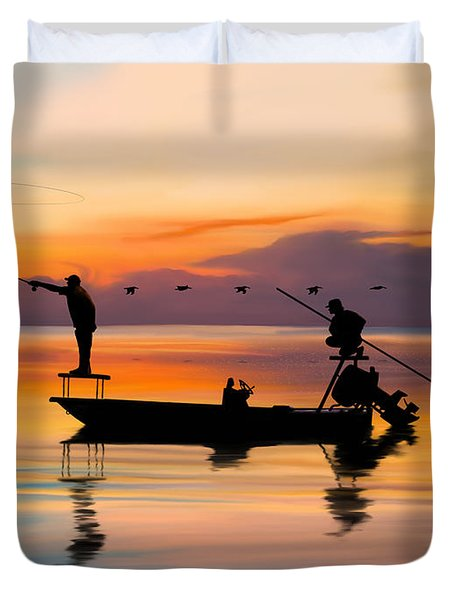 A Glorious Day Duvet Cover
