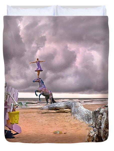 A Grain Of Sand Duvet Cover