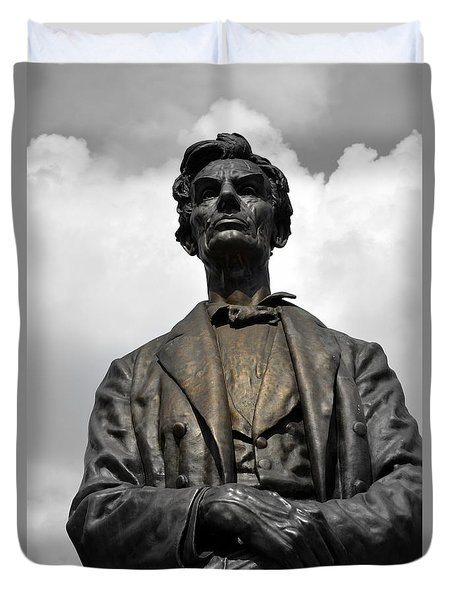 A Great Man Duvet Cover