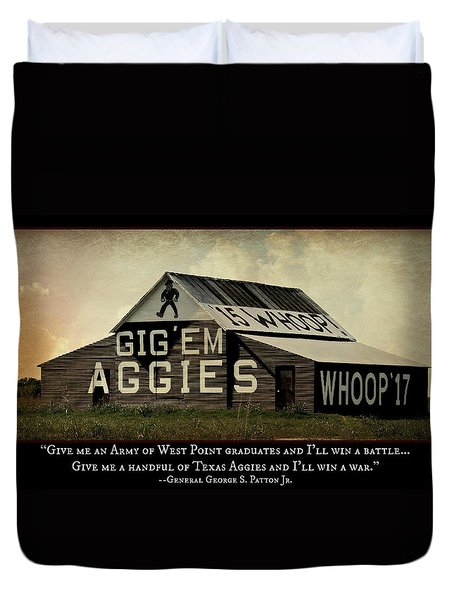 A Handful Of Aggies Duvet Cover by Stephen Stookey