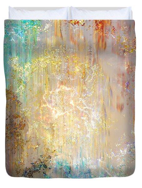 A Heart So Big - Abstract Art Duvet Cover