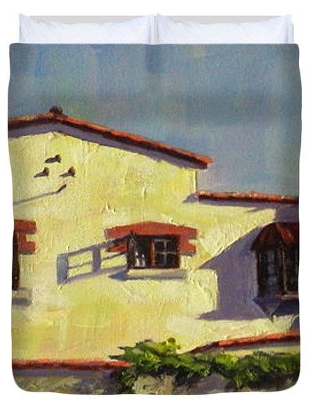 A Home In Barranco Duvet Cover