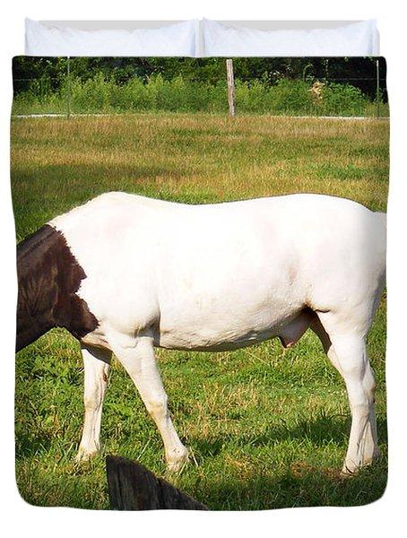 A Horse Named Dipstick Duvet Cover