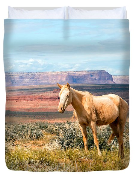 A Horse With No Name Duvet Cover