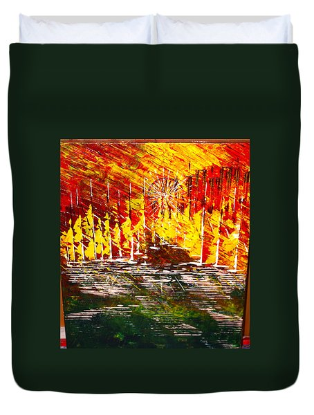 A Hot Summer Day.- Sold Duvet Cover
