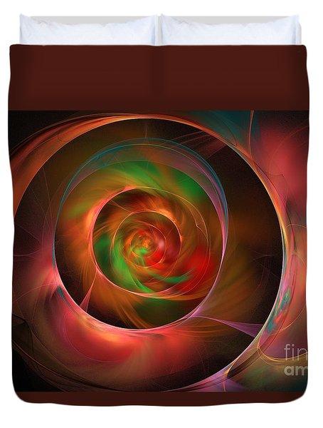 A Kind Of Inner Opalescence Duvet Cover