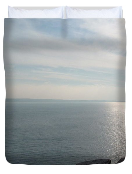 A King's View Duvet Cover by Richard Brookes