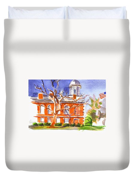 A Late Autumns Saturday Afternoon Duvet Cover by Kip DeVore