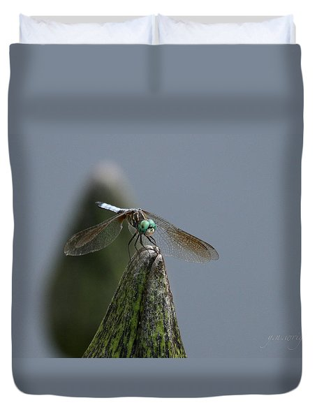 A Launch Pad Duvet Cover by Yvonne Wright
