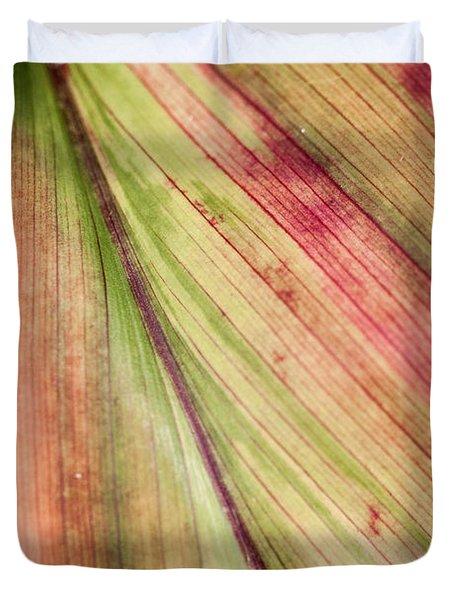 A Leaf Duvet Cover
