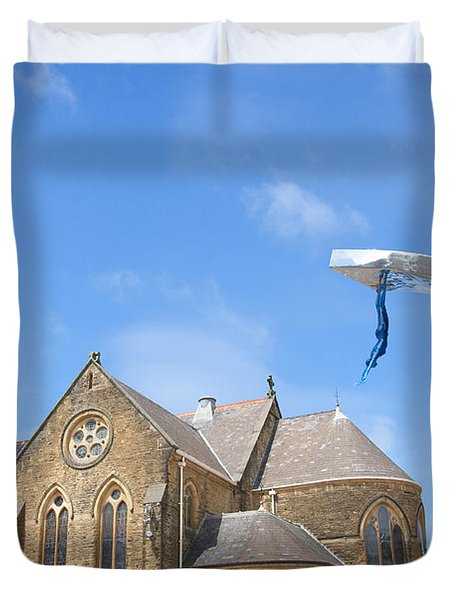 A Leap Of Faith Duvet Cover