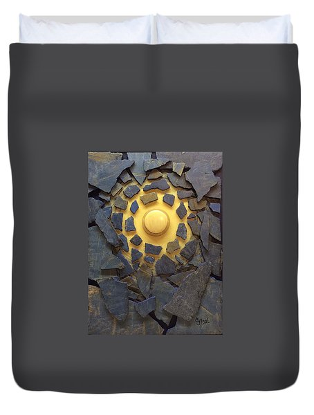 A Lesser Light To Rule The Night Duvet Cover