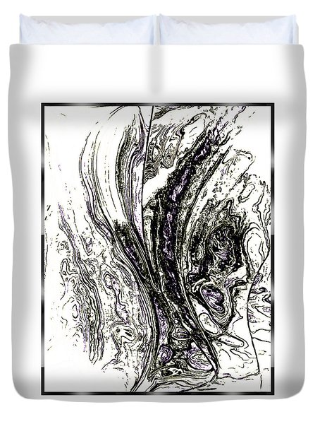 The Sketch Duvet Cover