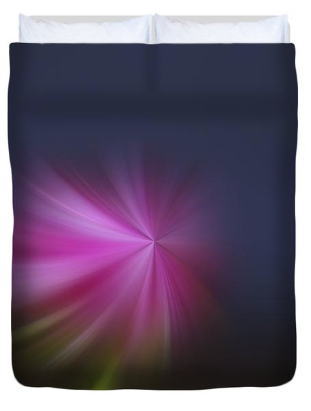 A Little Whirled Lollipop Duvet Cover by Jeff Swan
