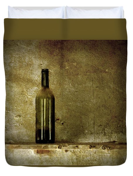 A Lonely Bottle Duvet Cover by RicardMN Photography
