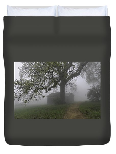 A Look Back In Time Duvet Cover by Lynn Bauer