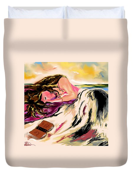 A Love Story  Duvet Cover by Lori  Lovetere