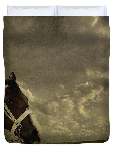 A Lovely Horse Duvet Cover