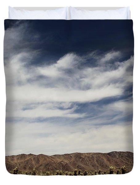 A Mad World Duvet Cover