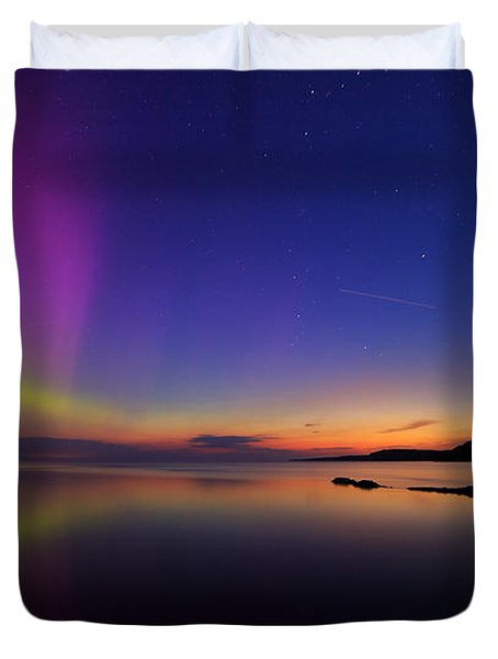 A Majestic Sky Duvet Cover by Everet Regal