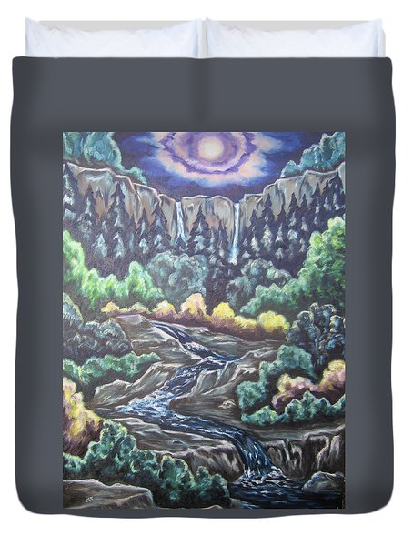 A Majestic World Duvet Cover