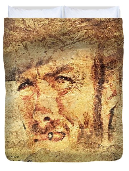 A Man With No Name Duvet Cover