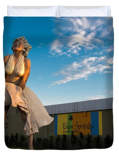 A Marilyn Morning Duvet Cover