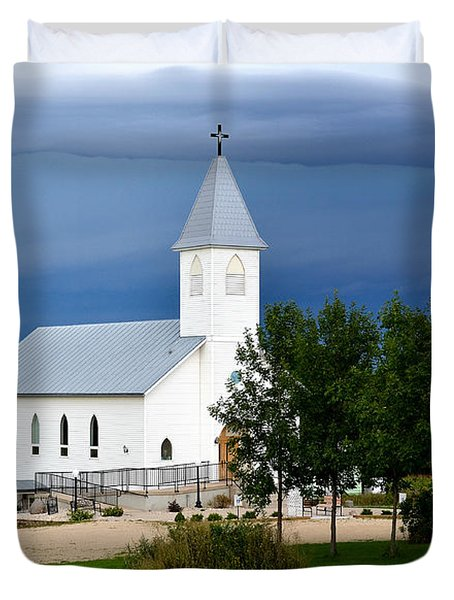 A Moment Of Peace Duvet Cover