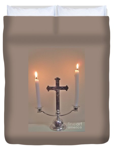 A Moment Of Peace Duvet Cover by John Williams