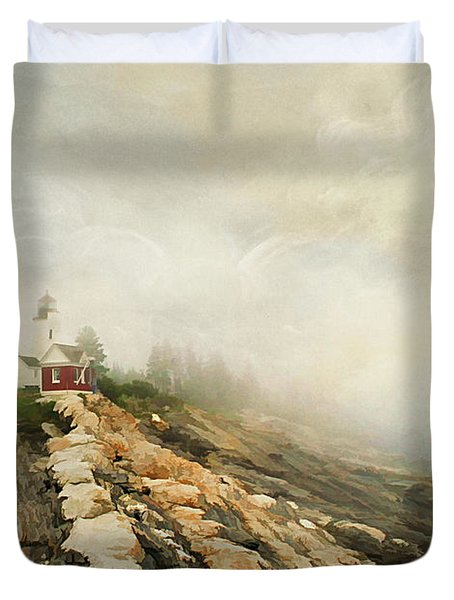 A Morning In Maine 2 Duvet Cover by Darren Fisher